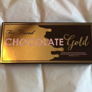Too Faced Chocolate Gold Palette New in Box